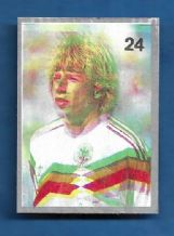 West Germany Jurgen Klinsmann 24 (F)